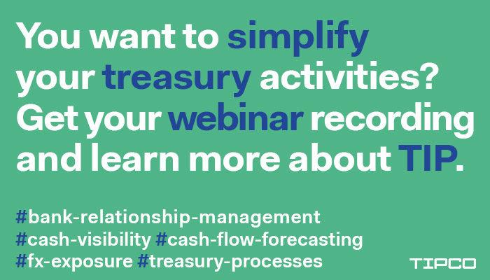 treasury webinars