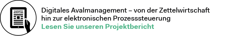 Digitales Aval-Management Projektbericht