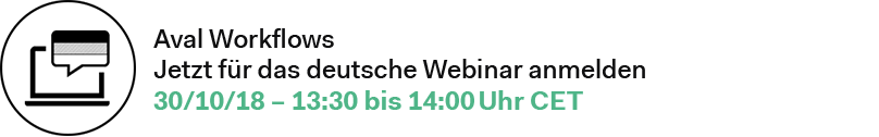 Digitales Aval-Management Webinar