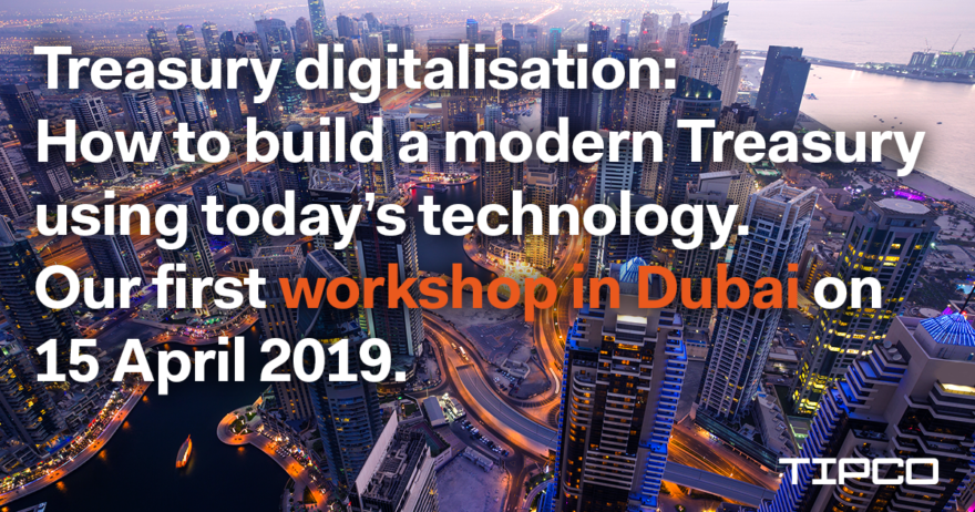 TIPCO Treasury workshop in Dubai