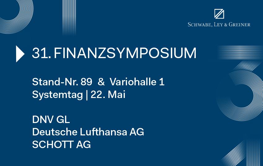 Finanzsymposium Mannheim 2019 mit TIPCO